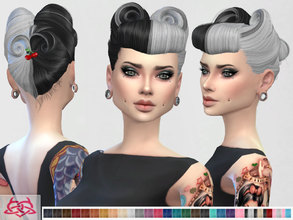 Sims 4 — Victory Rolls 07 by Colores_Urbanos — new meshes made by me -Need your game updated with the latest patch from