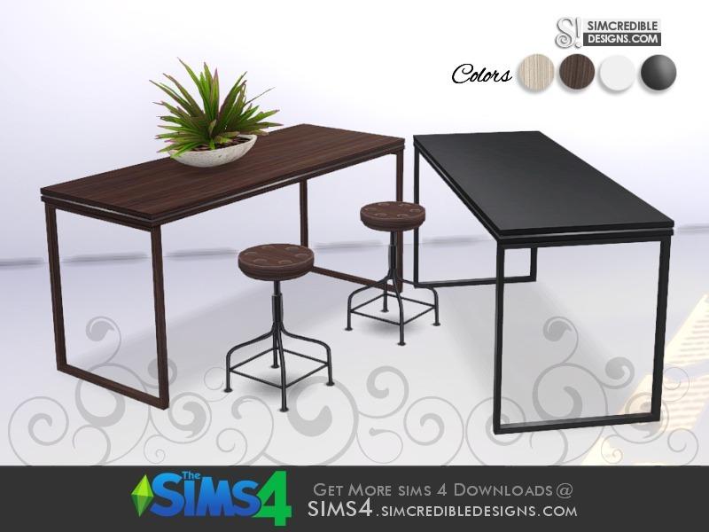 Simcredible S Come Cozy High Table