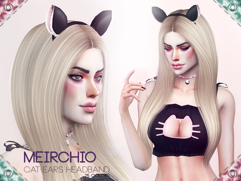 8f518c52f4 Pralinesims  Meirchio Cat Ears Headband