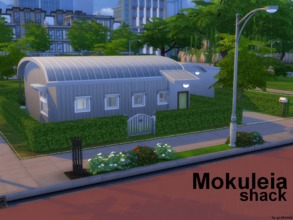 Sims 4 — Mokuleia shack NO CC by godkamia — An almost replica of Mokuleia shack on the Hawaii island from the racing