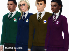 Sims 4 Downloads - 'school uniform'
