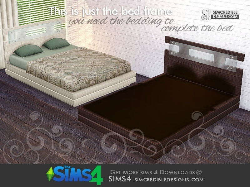 Simcredible S Cassis Bed Frame