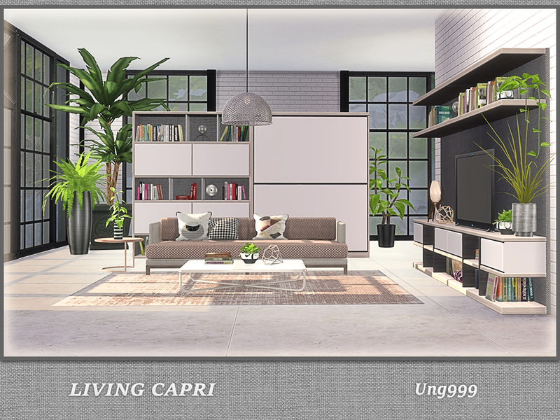 Ung999 S Black White Living: Ung999's Living Capri