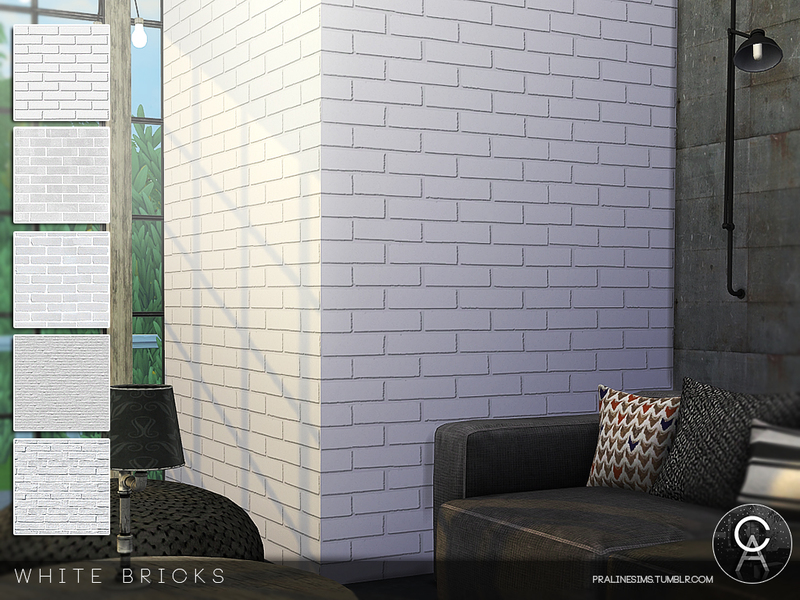 Pralinesims White Bricks