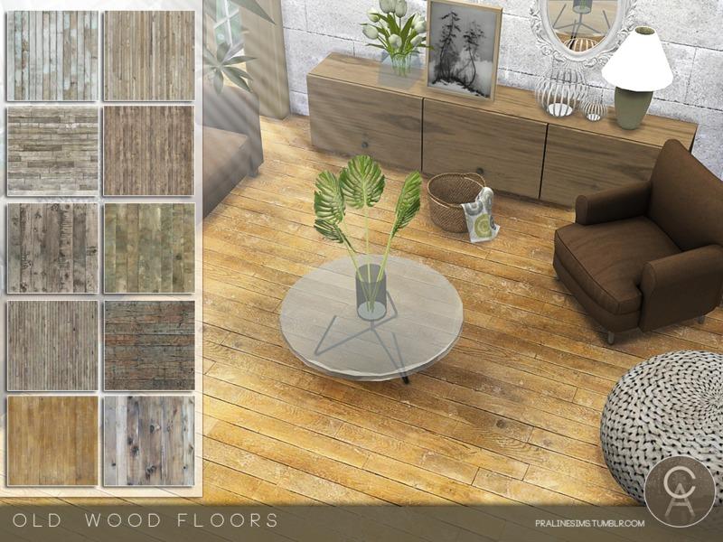 Pralinesims Old Wood Floors