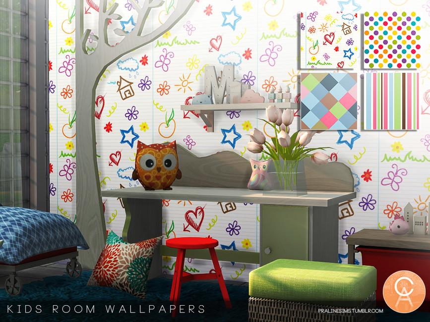 Pralinesims' Kids Room Wallpapers