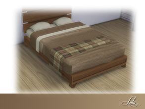 Sims 4 — Montanna Bedroom Bed Decor by Lulu265 — Part of the Montanna Bedroom Set 4 colour options included