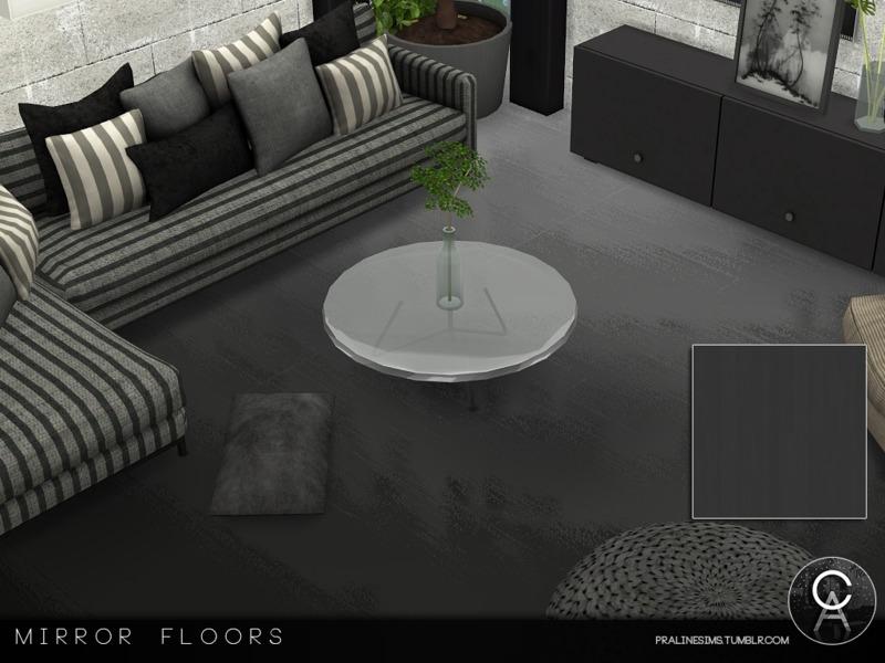 Pralinesims\' Mirror Floors