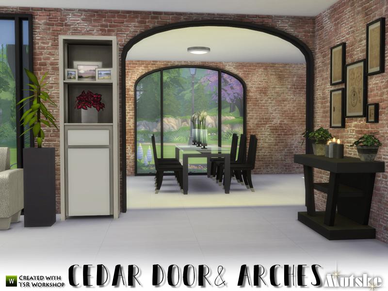 & mutskeu0027s Cedar Doors and Arches