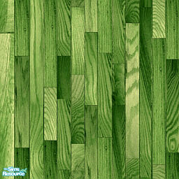 Lime Green Playtime Wood Stain Flooring