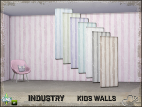 Sims 4 — Industry Walls Tree by BuffSumm — Part of the *Industry Series* ***TSRAA***