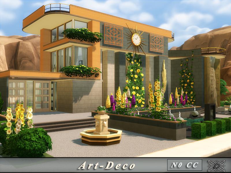 Danuta720 39 s art deco no cc for Decoration maison games