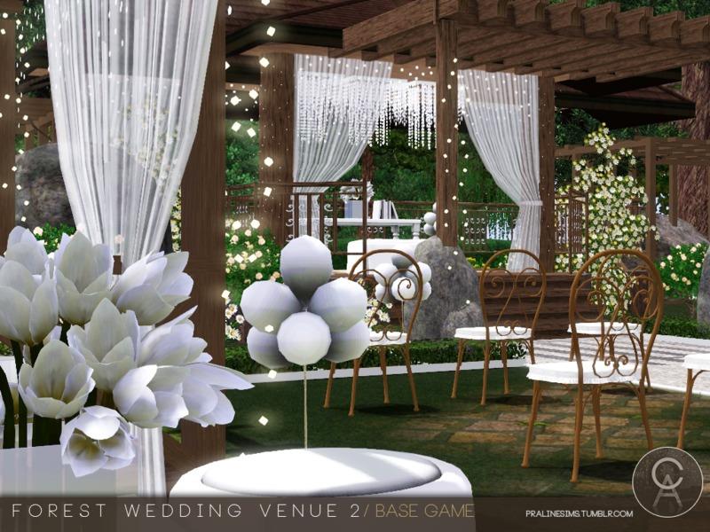 Pralinesims Forest Wedding Venue 2