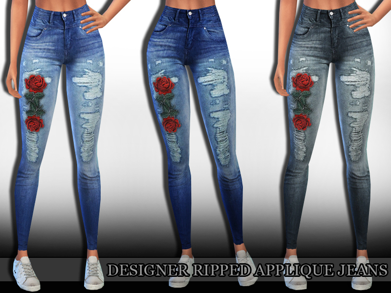 4 Jeansmodelle Ripped Schöne Sims Skinny Jeans rCBdxeo
