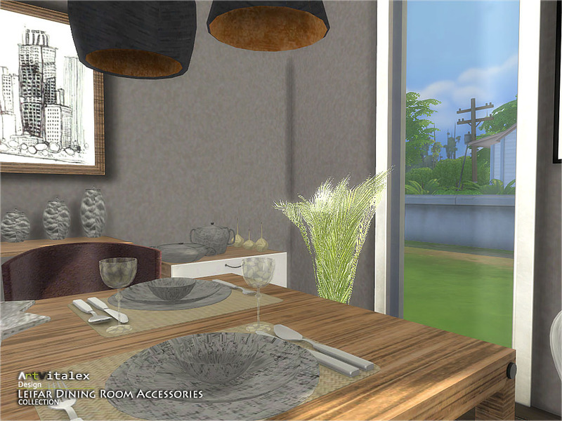 ArtVitalex\'s Leifar Dining Room Accessories