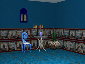 Sims 2 — Interior Ideas-Ocean Blue Set-Ocean Blue Wall by allison731 — Blue wall with nautical theme. Specifications: