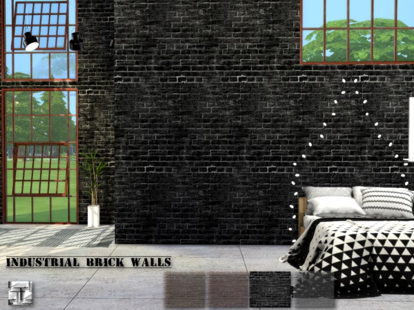 torque 39 s industrial brick walls. Black Bedroom Furniture Sets. Home Design Ideas