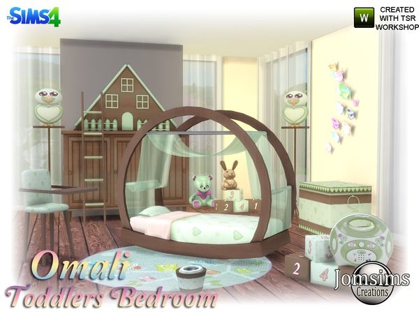 Jomsims Omali Toddlers Bedroom
