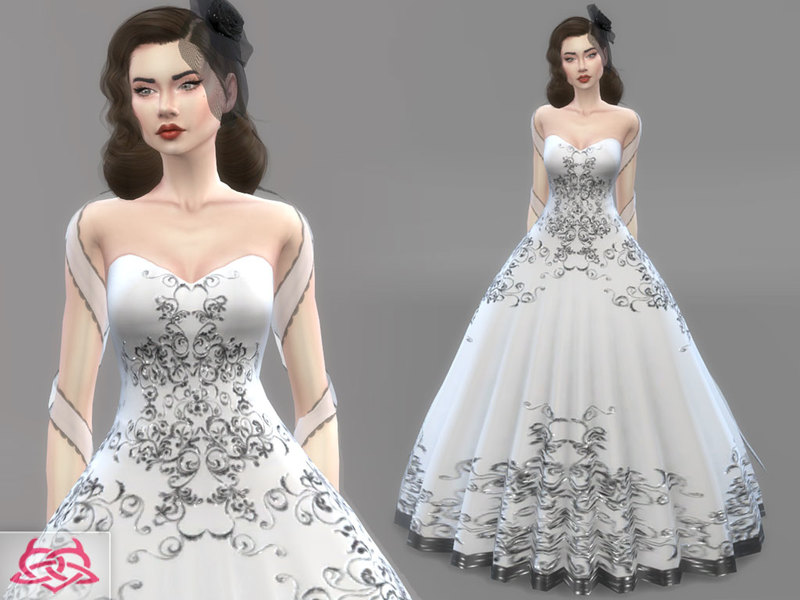 colores urbanos' wedding dress 1(original mesh)
