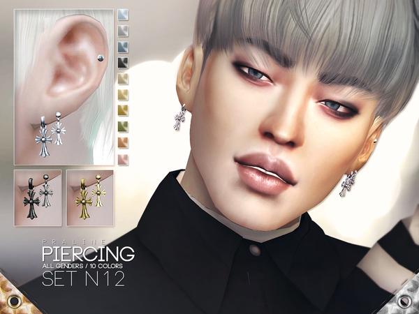 Pralinesims' Piercing Set N12