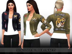 Sims 4 resource bomber jacket