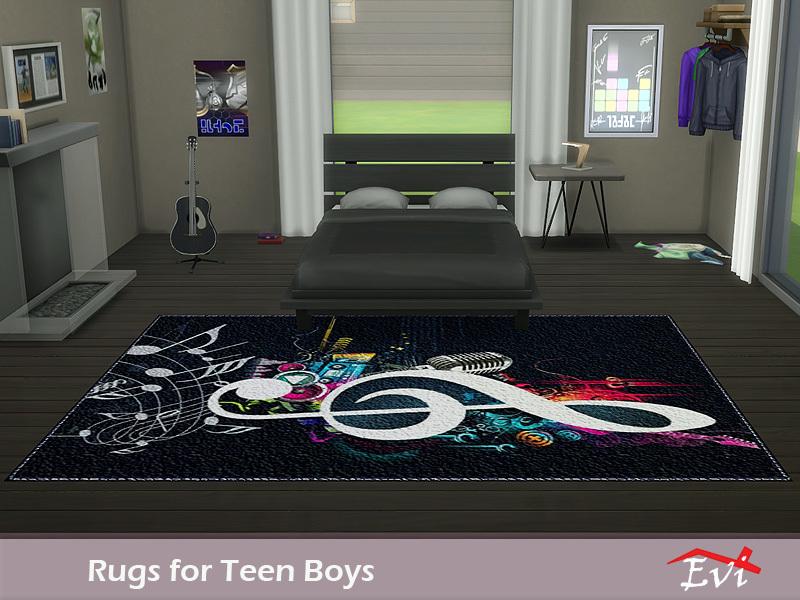 Evi S Rugs For Teen Boys