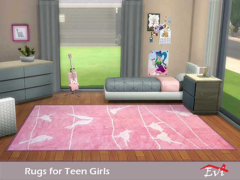 evi\'s Rugs for Teen Girls