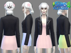 Sims 4 red jacket
