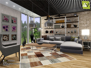 Delightful Avangarde Living Room