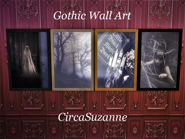 Circasuzanne S Gothic Wall Art Requires Movie Hangout