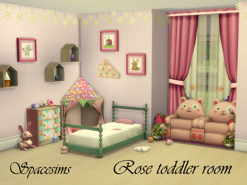Spacesims' Rose Toddler Room