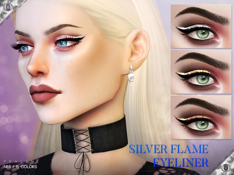 Pralinesims Silver Flame Eyeliner N68
