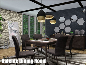 Sims 3 dining room sets for Sims 3 dining room ideas