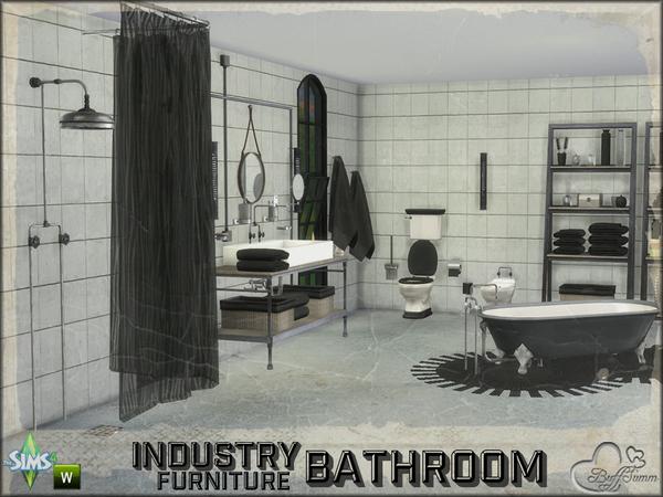 Buffsumm 39 s bathroom industry furnitures for Bathroom ideas sims 4