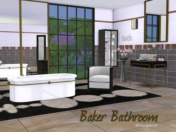 NynaeveDesigns Sonic Bathroom  The Sims Resource