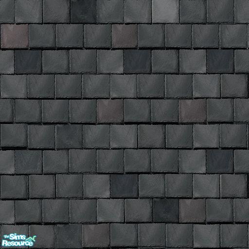 Uma Design S Flat Roof Tile Mixed Grey Slate