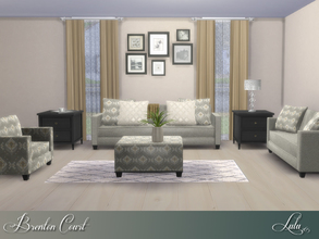 Contemporary and modern sims 4 living room sets for Modern living room sims 4