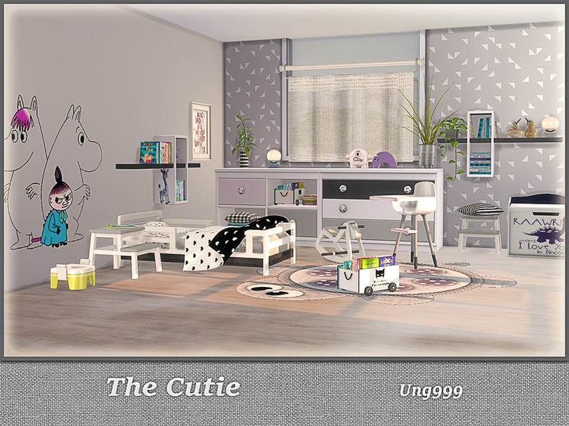 Ung999 S Black White Living: Ung999's The Cutie