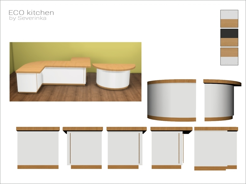 [ECO Kitchen]   Island Counter