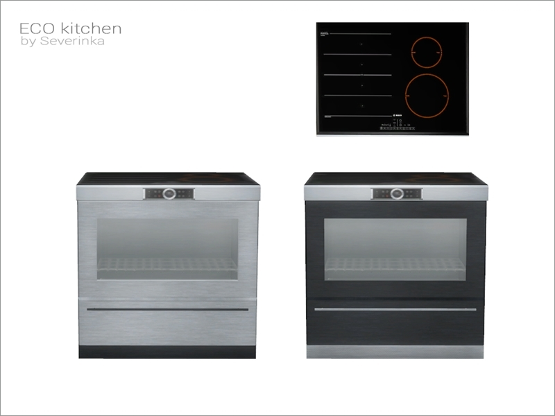 Eco Kitchen Stove Island Counter