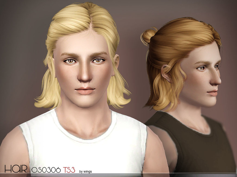 kinds of hair style sims 3 medium hair wingssims wings hair ts3 os0306 fm 2820