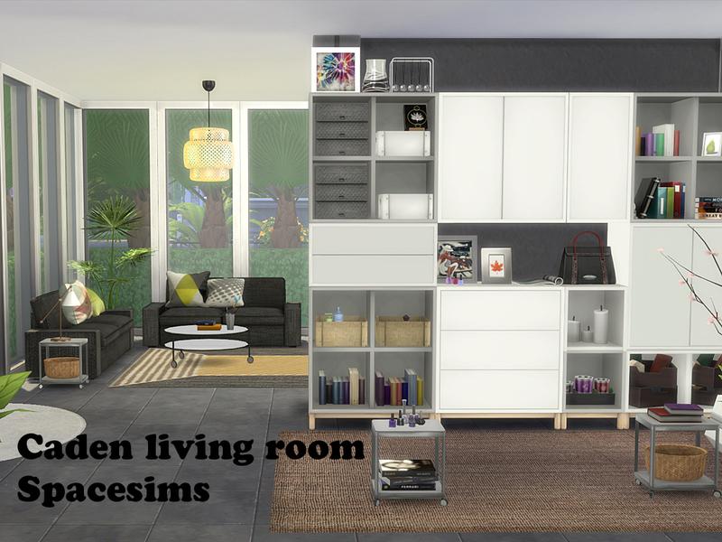 spacesims caden living room
