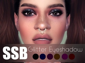 Sims 4 — SSB Glitter Eyeshadow by SavageSimBaby — Wow you own the galaxy with these eyeshadow, it's like you would blend