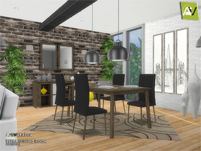 ArtVitalexs Sims 4 Dining Room Sets