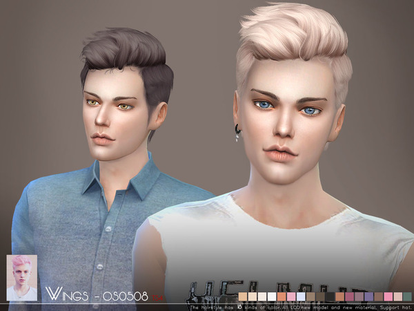 Hair Photos Boy Download: Wingssims' WINGS-OS0508