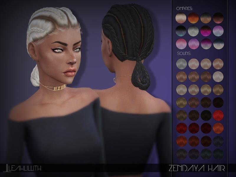 Zendaya Hairstyles Braids: Leah Lillith's Leahlillith Zendaya Hair