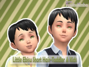 Sims 4 Male Hairstyles Toddler