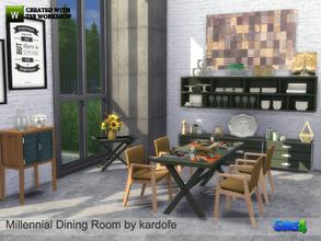 Kardofe Millennial Dining Room