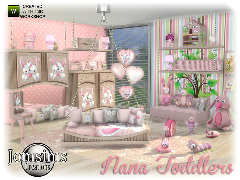 Jomsims' Nana Toddlers Bedroom