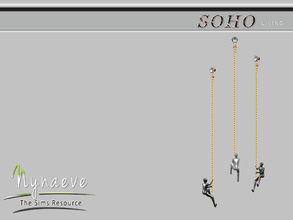 Sims 3 — Climbing Man by NynaeveDesign — Soho Living Room - Climbing Man Located in: Decor - Sculptures Price: 53 Tiles: